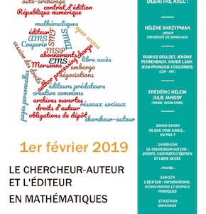 Demi-journée édition scientifique IMT - Affiche
