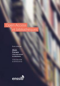 Texte numérique Open Access et Bibliothèques - Couverture