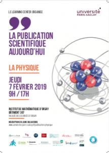 Journée d'étude Publication Scientifique - Affiche